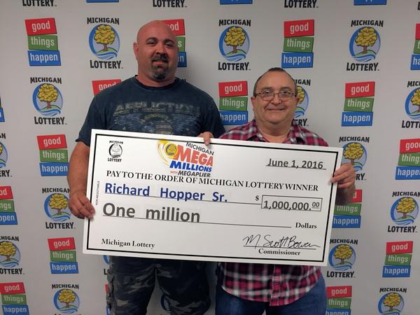 Richard Hopper Wins $1,000,000