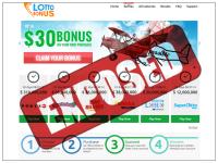 LottoBonus.com screenshort