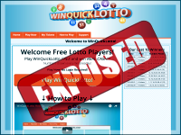 WinQuickLotto.com screenshort