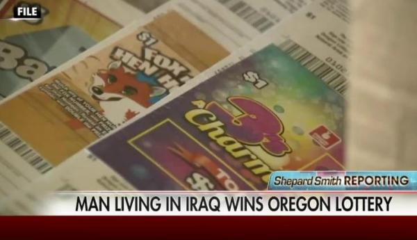 Iraqi Online Lottery Winner