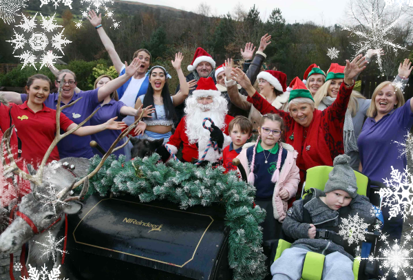 Glengormley Children's Hospice and National Lottery winners
