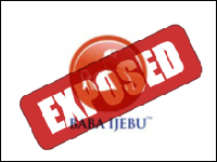 Baba Ijebu Exposed