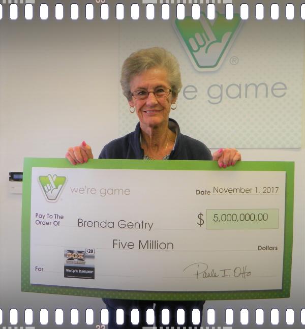 Brenda Gentry, multiple lottery winner