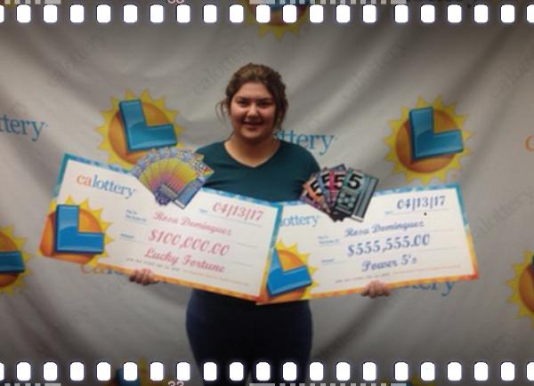 Rosa Dominguez, multiple lottery winner