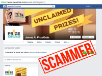 Watch Out for PrizeGrab Scam