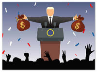 When the Wealthy Get Wealthier: Politicians Who Won The Lottery