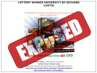 Lottery Winner University Exposed