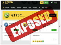 EnergyLotto.com screenshort