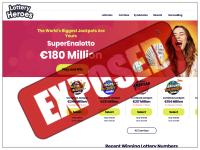 LotteryHeroes.com screenshort