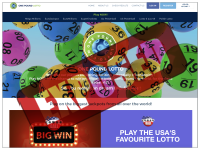 OnePoundLotto.com screenshort