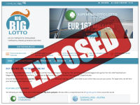 TheBigBigLotto.com screenshort