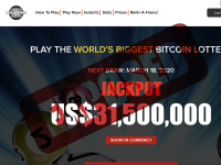 CryptoMillionsLotto.com screenshort